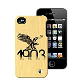 Be�ikta� iPhone 4/4S Y�l 1903 Lisansl� Ah�ap K�l�f