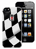 Be�ikta� iPhone 5 / 5S Bayrak Lisansl� Rubber K�l�f