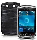 BlackBerry 9800 Torch �iftli Siyah Delikli K�l�f