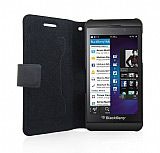 Doormoon BlackBerry Z10 L�x Kapakl� Deri K�l�f