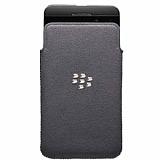 BlackBerry Z10 Orjinal Mikrofiber Pocket Siyah K�l�f