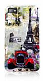 BlackBerry Z10 Eiffel Kulesi Silikon K�l�f