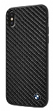 BMW iPhone X Karbon Siyah Silikon Kılıf