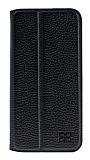 Bouletta Book Klug iPhone 7 Plus Standlı Kapaklı Floater Black Gerçek Deri Kılıf