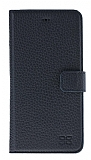 Bouletta Magic Wallet iPhone 7 Plus / 8 Plus Standlı Kapaklı Floater Black Gerçek Deri Kılıf