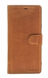 Bouletta Magic Wallet Samsung Galaxy Note 9 G19 Kahverengi Gerçek Deri Kılıf