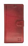 Bouletta Magic Wallet Samsung Galaxy Note 9 V4EF Kırmızı Gerçek Deri Kılıf