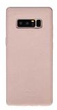 Bouletta Samsung Galaxy Note 8 NU2 Pembe Gerçek Deri Kılıf