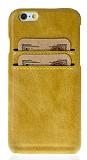 Bouletta Ultimate Jacket iPhone SE / 5 / 5S C05 Kahverengi Gerçek Deri Kılıf