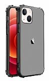 Buff Blogy iPhone 13 Mini Crystal Fit Smoke Black Kılıf