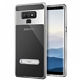 Buff Samsung Galaxy Note 9 Air Bumper Silver Kılıf