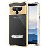 Buff Samsung Galaxy Note 9 Air Bumper Gold Kılıf