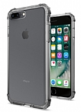 Buff No 1 iPhone 7 Plus / 8 Plus Ultra Koruma Smoke Black Kılıf