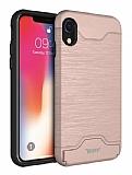 BUFF Slim Forder iPhone XR Rose Gold Kılıf