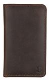 Burkley Universal Kahverengi Pasaport Kılıfı