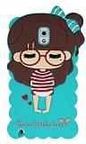 Candy House Samsung N9000 Galaxy Note 3 Sleepy Girl Su Ye�ili Silikon K�l�f
