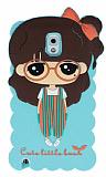 Candy House Samsung N9000 Galaxy Note 3 Cute Girl Su Ye�ili Silikon K�l�f