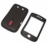 Capdase BlackBerry 9800 Torch Siyah Silikon K�l�f