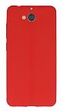 Casper Via A1 Deri Desenli Ultra İnce Kırmızı Silikon Kılıf
