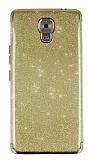 Casper Via A1 Plus Simli Gold Silikon Kılıf
