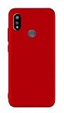 Casper Via A3 Plus Mat Kırmızı Silikon Kılıf