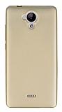 Casper Via E1 Mat Gold Silikon Kılıf