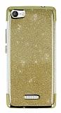 Casper Via M1 Simli Gold Silikon Kılıf