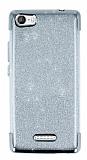 Casper Via M1 Simli Silver Silikon Kılıf