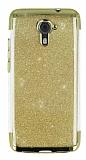 Casper Via M2 Simli Gold Silikon Kılıf