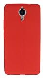 Casper Via P1 Deri Desenli Ultra İnce Kırmızı Silikon Kılıf