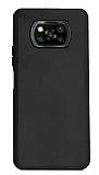 Xiaomi Poco X3 Siyah Silikon Kılıf