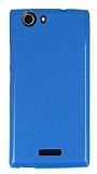 Casper Via V6 Mavi Silikon Kılıf