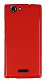 Casper Via V6 Kırmızı Silikon Kılıf