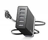 Cellularline 5 Çıkışlı USB Seyahat Şarj Adaptörü