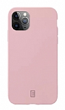 Cellularline iPhone 12 Pro Max Sensation Soft Pembe Silikon Kılıf
