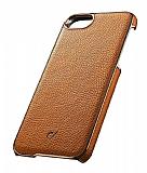 Cellularline iPhone 7 / 8 Lux Kahverengi Deri Kılıf