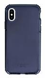 Cellularline iPhone X / XS Tetra Force Twist Ultra Koruma Şeffaf Siyah Kılıf