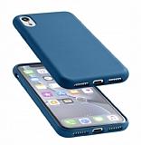 Cellularline iPhone XR Sensation Soft Lacivert Kılıf