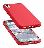 Cellularline iPhone XR Sensation Soft Kırmızı Kılıf
