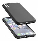 Cellularline iPhone XR Sensation Soft Siyah Kılıf
