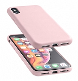 Cellularline iPhone XS Max Sensation Soft Pembe Kılıf