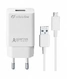 Cellularline Micro USB Seyahat Şarjı 15W (Kablo+Adaptör)