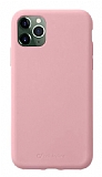 Cellularline Sensation iPhone 11 Pro Pembe Silikon Kılıf