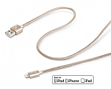 Celly Apple Lisansl� Dayan�kl� Halat Gold Data Kablosu