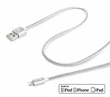 Celly Apple Lisansl� Dayan�kl� Halat Silver Data Kablosu