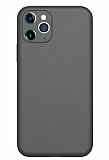 Coblue iPhone 12 Pro Max 6.7 inç Kamera Korumalı Siyah Silikon Kılıf