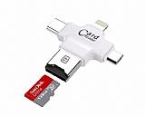 Cortrea Lightning, Micro USB ve USB Type-C OTG Kart Okuyucu
