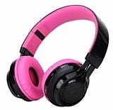 Cortrea Bluetooth Led Işıklı Pembe Kulaklık