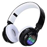 Cortrea Bluetooth Led Işıklı Beyaz Kulaklık