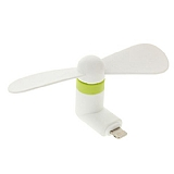 Eiroo Universal Lightning & Micro USB Beyaz Mini Fan